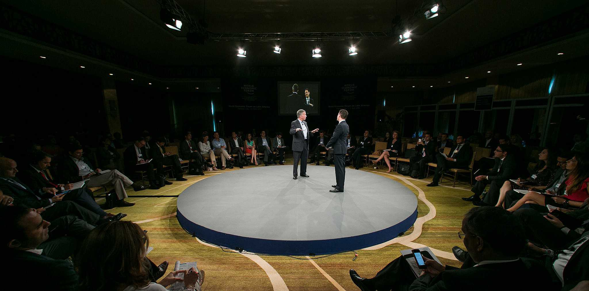 Useem at World Economic Forum